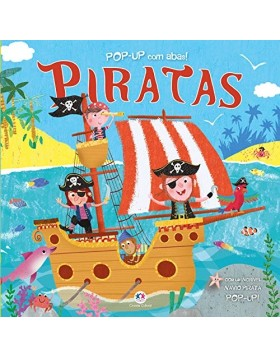 Livro Pop Up Piratas 26x26 Ciranda Cultural